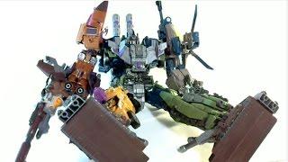 變形金剛 金寶 軍事合體混天豹 布達斯 放大版//Transformers JinBao Bruticus Oversized KO
