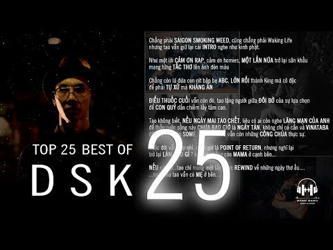 Top 25 BEST of DSK 2017 [Video Lyrics HQ]