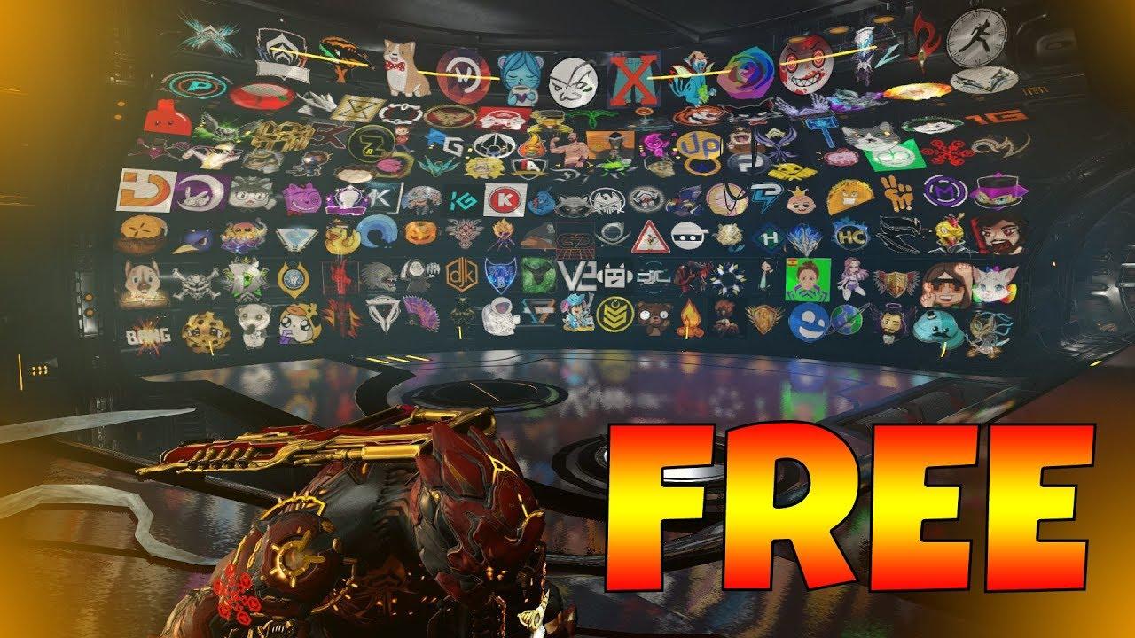 Warframe - ALL FREE GLYPH CODES!!!