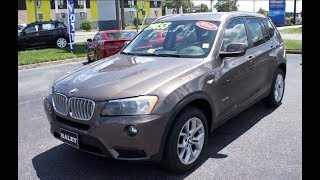 2014 BMW X3 xDrive35i Walkaround, Start up, Tour and Overview