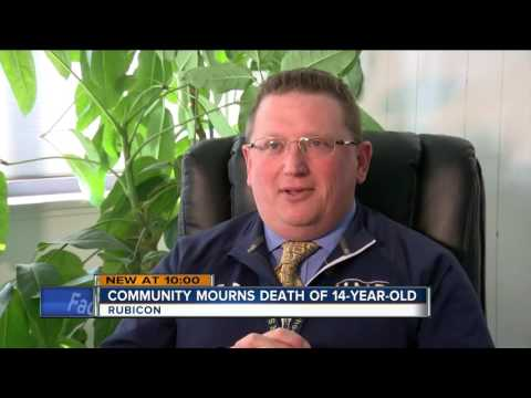 Community mourns death of 14-year-old