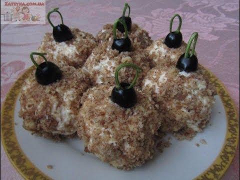 Салат в виде клубники