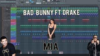 MIA - BAD BUNNY FT DRAKE FLP // FL STUDIO !