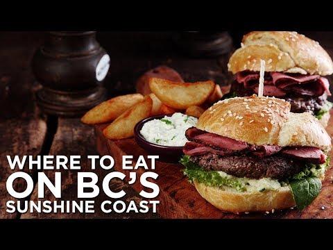Where to eat on BC's Sunshine Coast?