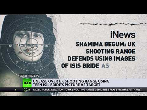 Harmless fun or racist? Use of ISIS bride's picture as shooting target sparks DEBATE