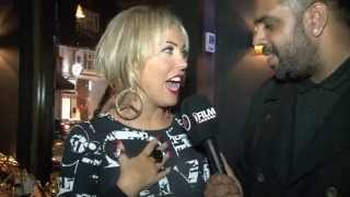 AISLEYNE HORGAN-WALLACE INTERVIEW FOR iFILM LONDON / CHLOE SIMS BOOK LAUNCH @ LUXE