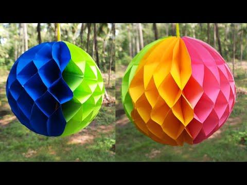 DIY Paper Honeycomb