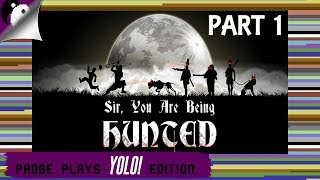 Padge Plays! YOLO Edition - Sir, You Are Being Hunted (2013 - Big Robot) Survival Gameplay Part 1