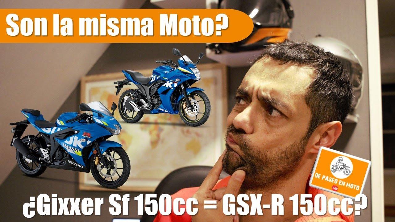 Suzuki Gixxer SF 150cc y GSX-R 150cc 😱, 🏍🏍¿son la misma moto con diferente precio💔?