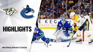 nhl-highlights-predators-canucks-11-12-19