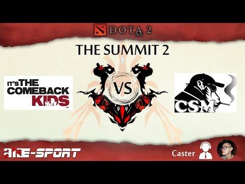 Jeen Comeback VS Crack-Smoking'Monkeys - Replay 3 Match  - The Summit 2 by Laos E-Sport