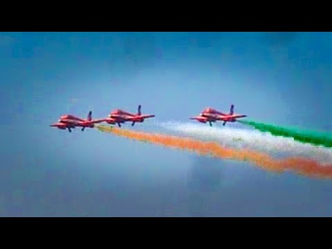 Few Moments from Aero India : largest air show in Asia & Trains