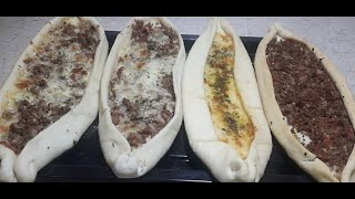 Turkish Pizza Recipe | Turkish Pide | How to Make Turkish Pizza / Pide | Cook With Hassan