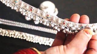 चांदी के बर्तन, जेवर को साफ करने का घरेलु तरीका। How to Clean Silver Jewelry, Utensils at Home