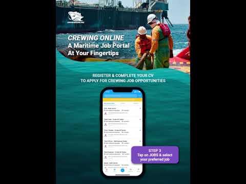 Crewing Online | A Maritime Job Portal At Your Fingertips