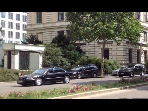 Motorcade Of Turkish PM Erdogan In Vienna - Başbakan Recep Tayyip Erdoğan Konvoy Viyana'da