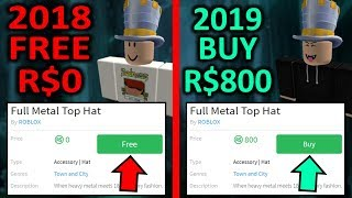 This top hat was free... now its R$800... 😱