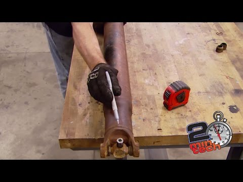 How To Shorten A Driveshaft - Two Minute Tech