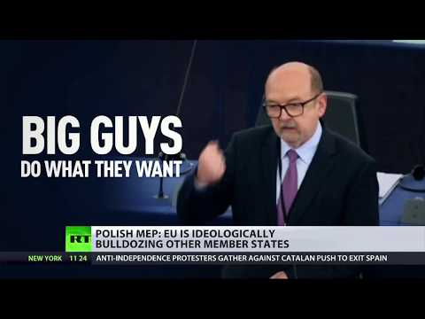 "Polish MEP calls EU ""political bulldozers"""