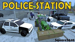 Farming Simulator 17 - Building & Setting Up Police Station