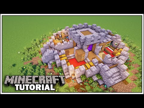 Minecraft Tutorial: Ultimate Survival Base [How To Build]