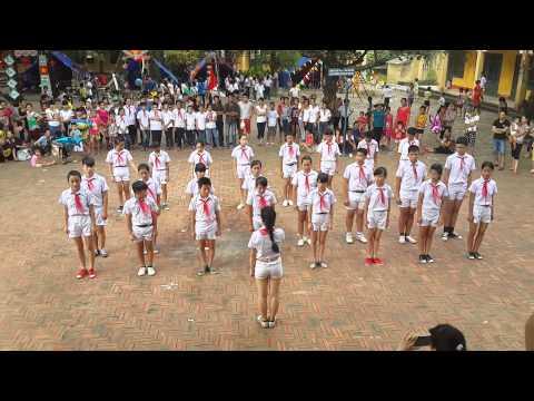 Trại hè 2014 - Khu 34 - phần thi Nghi thức đội