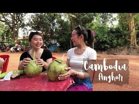 柬埔寨暹粒 廢墟吳哥窟此生必去拍一波! Come to CAMBODIA with me! | VickyVickyChanChan