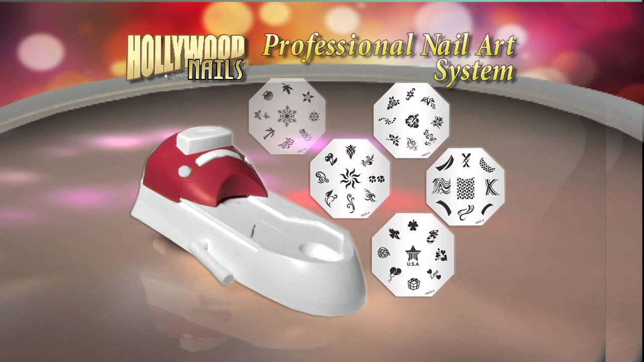 Hollywood nails as seen on tv invented youtube prinsesfo Gallery