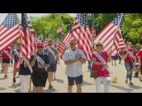 Arlington Heights Remember Those Who Have Fallen With Parade, Ceremony