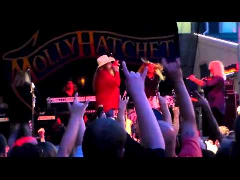 Molly Hatchet Live at Station Square Pittsburgh 7/25/14