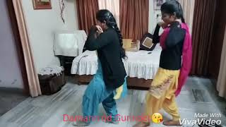 Sisters Dance on laung laachi song