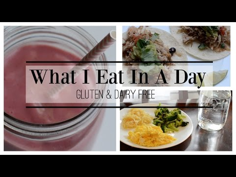 What I Eat In A Day Gluten Free + Dairy Free ♡ NaturallyThriftyMom