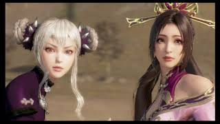 Dynasty Warriors 9 - ALL NEW DLC Characters Story Mode CG Cutscenes + Endings