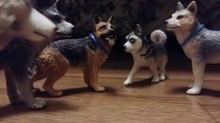 Приключения Гавки и Буси. 1серия На стороне волков (schleich сериал)