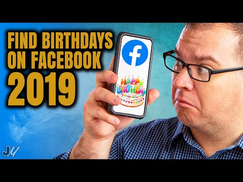 How To Find Birthdays On Facebook