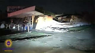 Dallas Police Officer Caught Looting After Tornado Destroyed Liquor Store