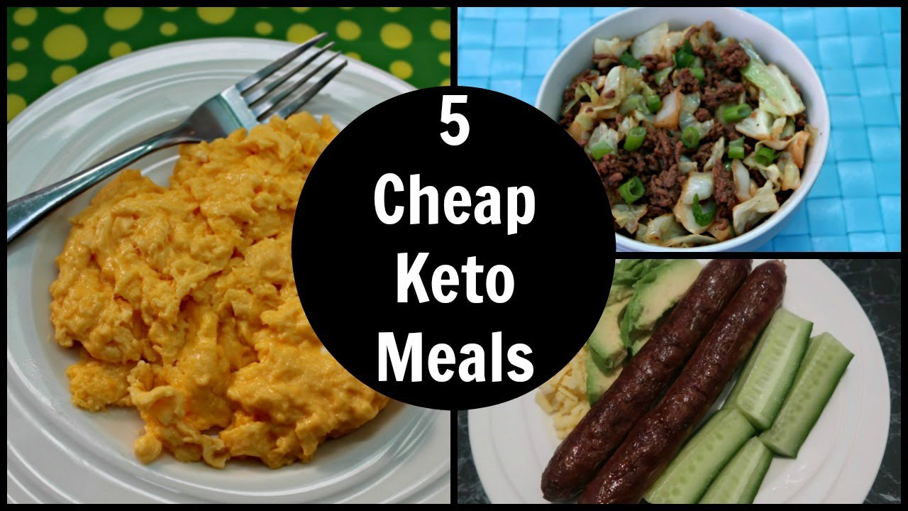 5 cheap keto meals low carb recipes on a budget youtube. Black Bedroom Furniture Sets. Home Design Ideas