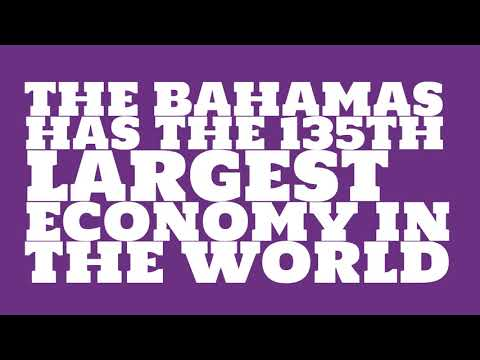 How big is the economy of The Bahamas?