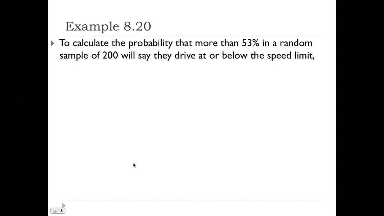 Probability Problems Using the Sampling Distribution of the ...