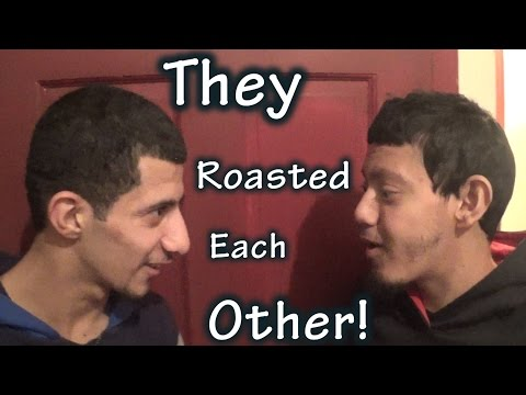 THEY ROASTED EACH OTHER!!