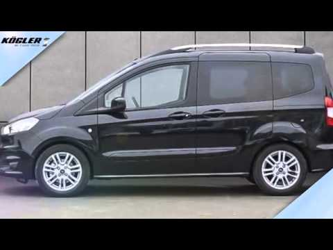 ford tourneo tourneo courier 1 6 tdci titanium 19 youtube. Black Bedroom Furniture Sets. Home Design Ideas