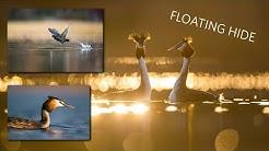 Kelluva piilokoju lintukuvauksessa / Floating hide for bird photography [ENG SUB]