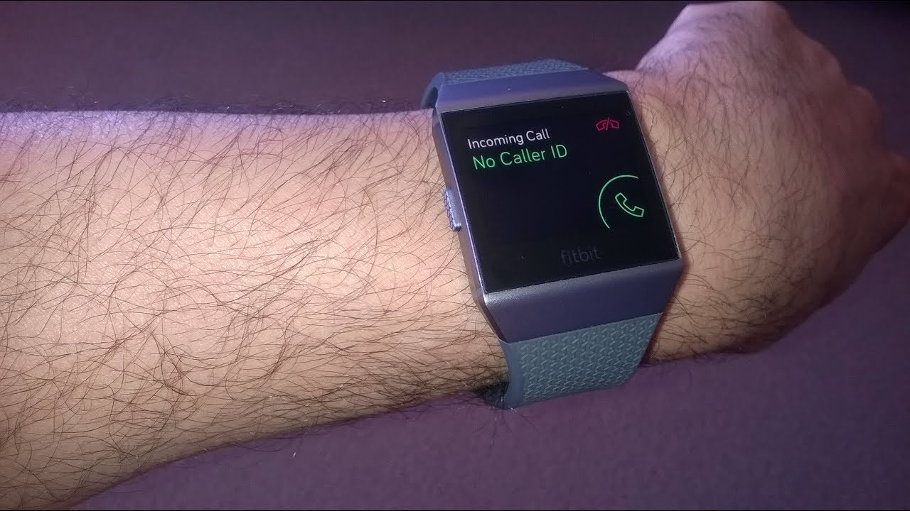 How to receive phone calls/text messages on Fitbit Ionic