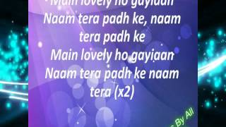 Lovely Happy New Year Lyrics[HD] 2014