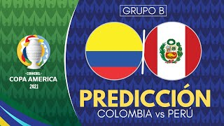 COLOMBIA vs PERÚ | Copa América 2021 - Previa, Predicción y Pronóstico [En Vivo]