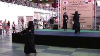 Kendo (Jigeiko, Kakari-Geiko y Kirikaeshi) - Mes Cultural Japonés 2014