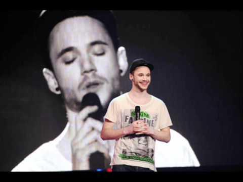 Roman Lob - After Tonight (Justin Nozuka) Live USFB Germany Eurovision 2012 Baku