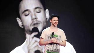 Roman Lob - After Tonight (Justin Nozuka) Live USFB Germany Eurovision 2012 Baku