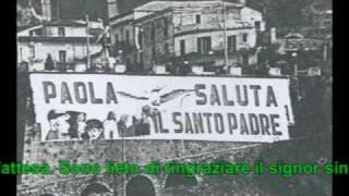 Visita di Giovanni Paolo II a Paola