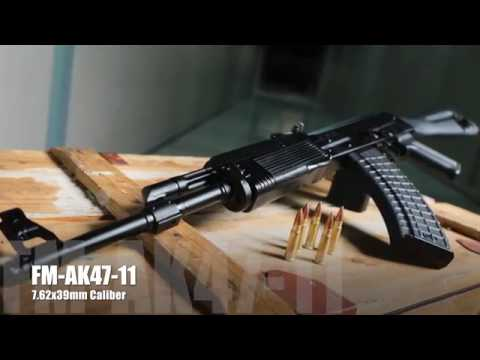 FM-AK47-11 Vepr 7.62x39mm Caliber Rifle